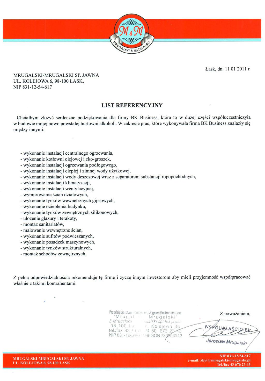 MRUGALSKI - MRUGALSKI SP. JAWNA